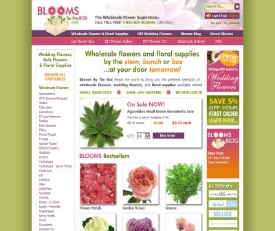 Wholesale Flowers - Blooms by the Box