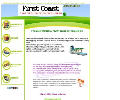 First Coast Inflatables