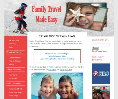 Family Travel Made Easy