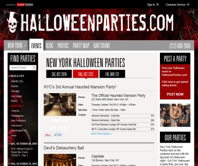 Halloween Parties - Halloween Events