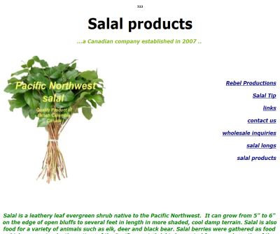 Salal Products