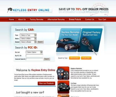 Aftermarket automotive keyless entry remotes