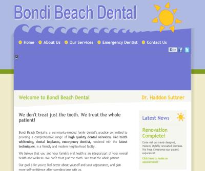 Dentist Bondi Sydney - Tooth Whitening Services