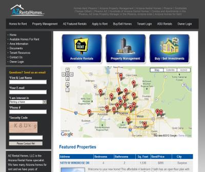 Arizona Homes for Rent, Phoenix Rentals, Houses, Condos & Apartments