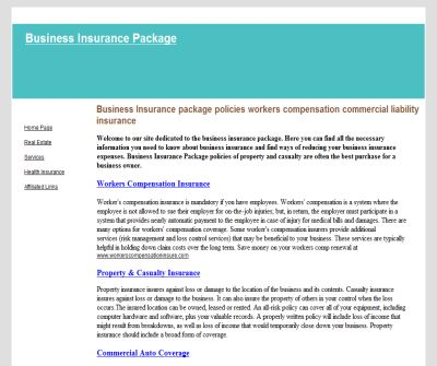 Business Insurance package