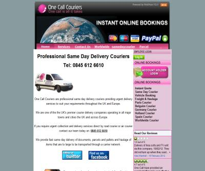 Cheap Parcel Delivery - Sameday Courier - Worldwide Parcels