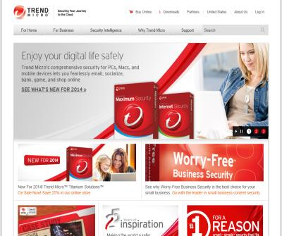 Trend Micro Antivirus Software