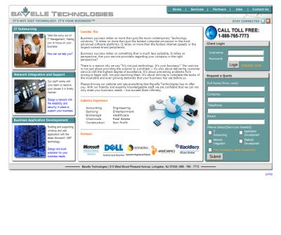 Bavelle Technologies Livingston New Jersey Computer Services, Network Support, Programming, Web Design