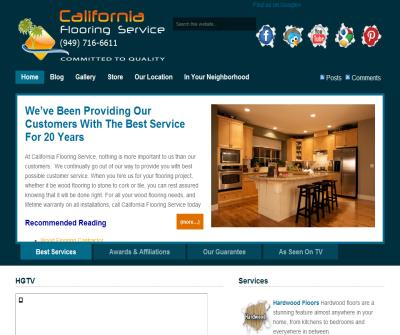 Orange County Flooring Services, Flooring Contractor - California Flooring Service