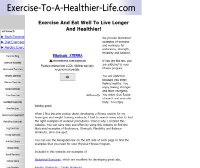Exercise To A Healthier Life