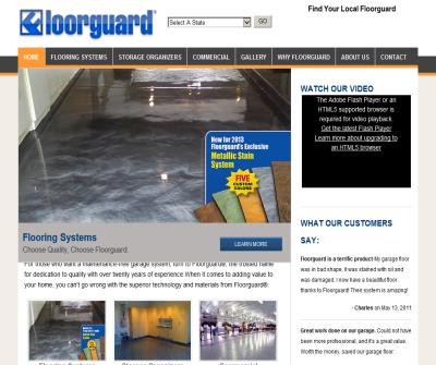 Floorguard - Garage Flooring, Garage Storage and Garage Floor Coating