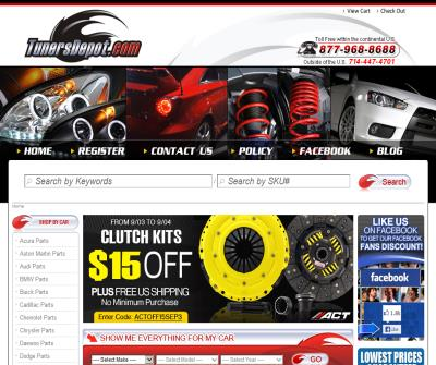 #1 Performance Auto Parts & Accessories Online Store - TunersDepot.com