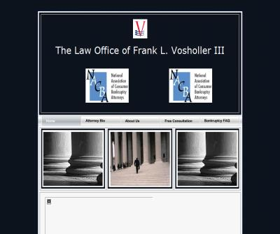 Mr. Frank L. Vosholler III