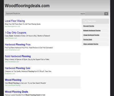 Wood Flooring Deals.com has Great Deals On Hardwood, Bamboo, and cork flooring