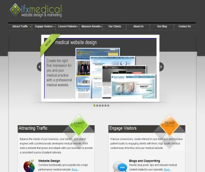 IFX Medical Inc, Medical Website Design and Marketing