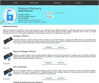 password recovery hotmail