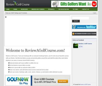Review a Golf Course