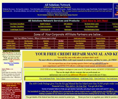 Free Credit Repair Book Manual Service