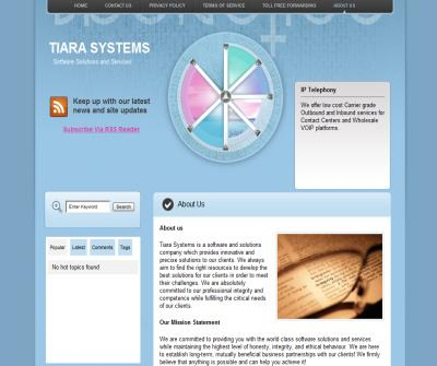 Tiara Systems Inc.
