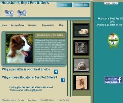 Houston's Best Pet Sitters, pet sitting, dog walking