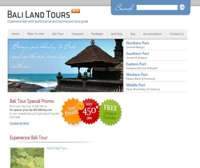 Bali Land Tours-day tours and holiday package