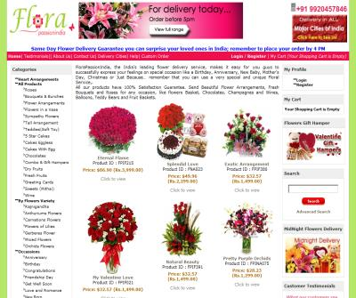 Send Flowers,Cakes & Gifts to India. Mumbai ,Bangalore,Delhi Online Florists