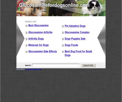 Glucosamine For Dogs, Dog Chondroitin, Safe Pain Relief, Dosages