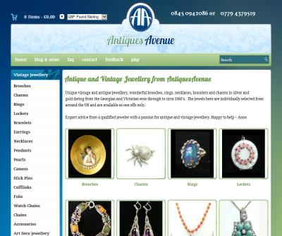 Vintage Jewellery , Vintage costume Jewellery and Accessories 1800s to 1970s