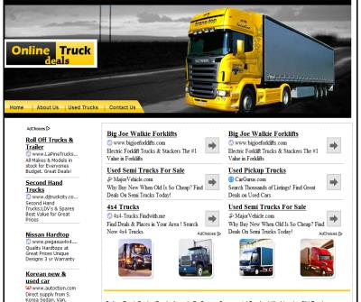 Trucks for sale by Owner, Commercial Trucks, Lifted trucks, Pickup trucks, 4x4 Trucks, Semi Trucks, Dump Trucks