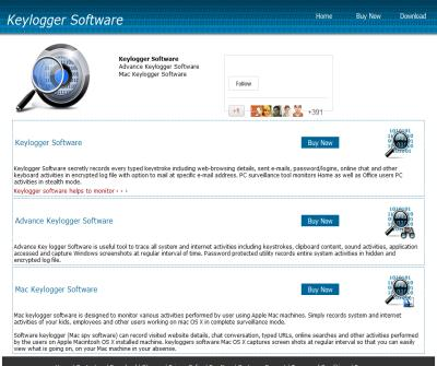 Keylogger software free computer monitoring internet surveillance PC activity monitor program