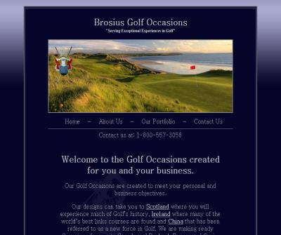 Brosius Golf Occasions - May we carry your bags?
