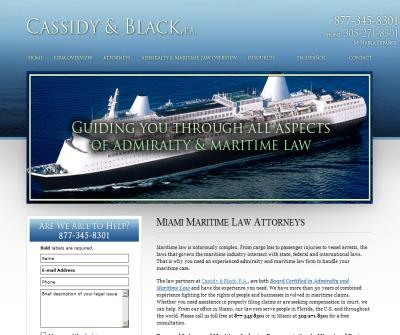 Florida Maritime Lawyers: Miami Injury Law, Arbitration, Jones Act Attorneys, Cruise Line Accidents