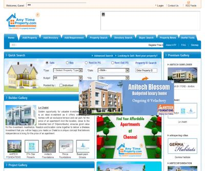 Real Estate Property India, Property Sites India, Properties Sale India-Anytimeproperty.com