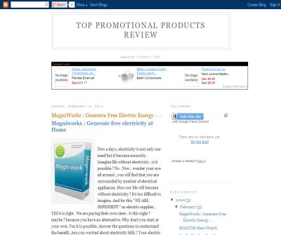 Top Promotional Products Review