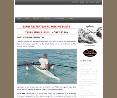 Rowing boat - Edon Recreational Row boats - Rowboats - Rowing