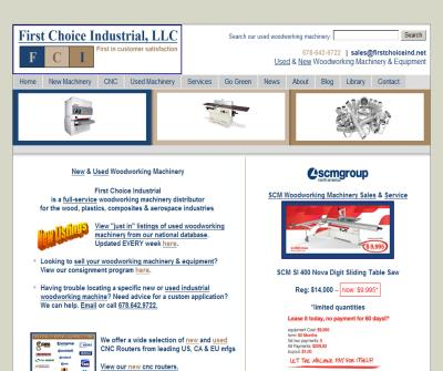First Choice Industrial LLC - New and Used Industrial Woodworking machinery and equipment