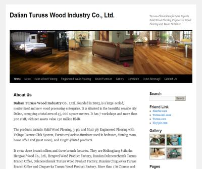 Turuss Wood Industry Co.,Ltd.--Manufacturer of solid wood flooring,engineered flooring and wood furniture.