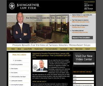 Houston Personal Injury Lawyers | Baumgartner Law Firm