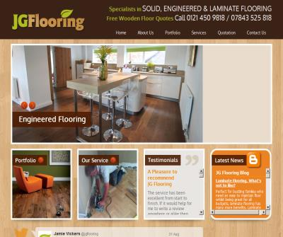 J.G FLooring, Floor Fitting Specialists In Solid Wood, Hardwood and laminate flooring in Solihull, B