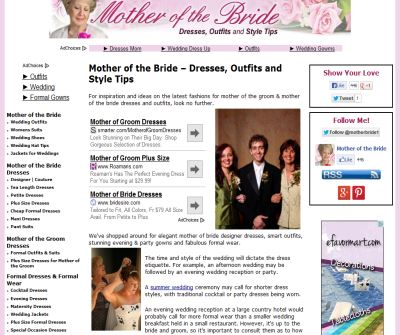 Mother of the Bride Dresses - Mother of the Groom Outfits