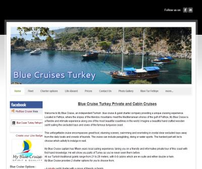 My Blue Cruise Turkey - Home