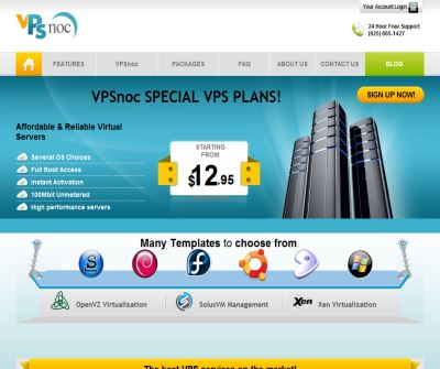 VPS NOC | VPS Hosting | Reliable VPS | Unmanaged VPS Hosting | Cheap VPS Servers