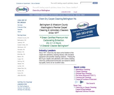 Chem-Dry of Bellingham Carpet Cleaning & Upholstery Cleaners