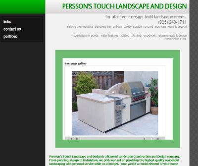 Persson's Touch Landscape and Design