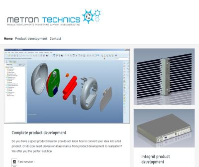 Metron Technics - product development and plastic injection