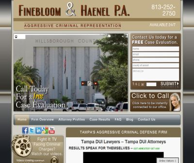 Tampa DUI Lawyers | DUI Attorneys in Tampa, FL - Finebloom & Haenel, P.A.