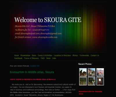 Welcome to   SKOURA  GITE - Home