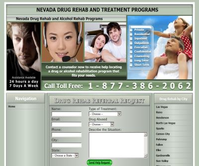 Drug Rehabs In Nevada
