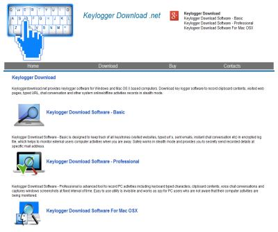 download keylogger freeware