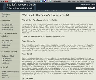 The Beader's Resource Guide